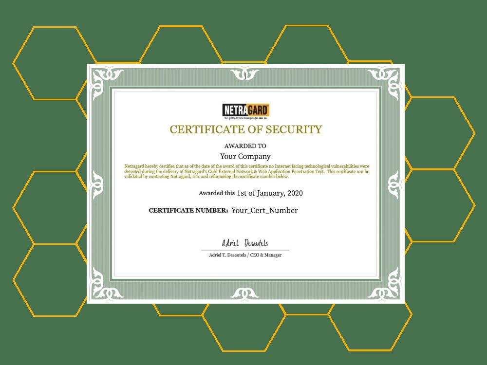 Netragard Certification Program