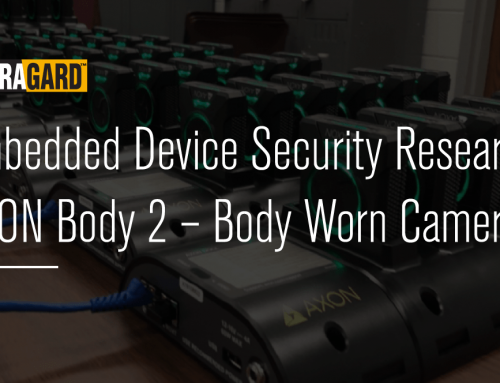 Embedded Device Security Research: AXON Body 2 – Body Worn Cameras